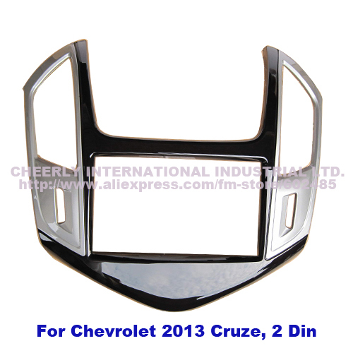 Double Din Car Stereo Replacement Fitting Kit Chevrolet 2013 Cruze Front Bezel Audio Trim Surround Panel Face Frame Kits - Cheerly International Industrial Ltd. store