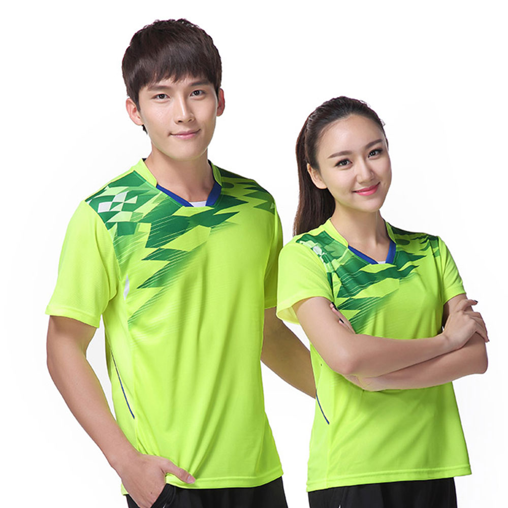 Free Print Quick dry Badminton, sports t shirt , Tennis t shirt Male/Female , Tennis shirts ,Table Tennis t shirt 3062AB