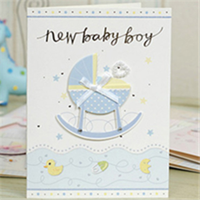 30pcs/lot 12 different kinds baby birthday invitations card