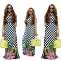 2017 Африканские Платья Африканские Платья Для Женщин ограничены Во Времени Прямые Продажи Хлопка Халат Africaine Сексуальный И Красота Одежды