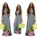 Vestidos africanos Para As Mulheres-Tempo limitado de Venda Direta de Algodão Robe Africaine 2016 Sexy E Beleza Roupas