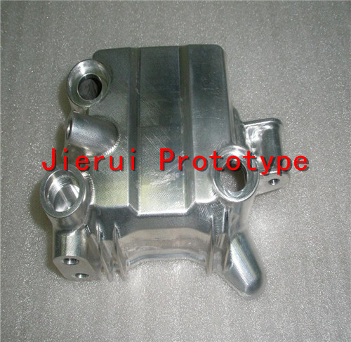 cnc prototyping aluminium car part /SLA SLS  rapid prototype service 55ml aluminium sub tank printer part