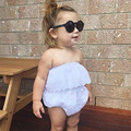 Fashion Toddler Newborn Infant Baby Girl White Lace Floral Romper Jumpsuit Outfits Sunsuit Clothes