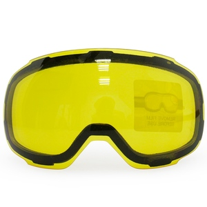 Image 4 - COPOZZ Lentes de GOG 2181 originales, lentes magnéticas con grapas amarillas para gafas de esquí, antiniebla, UV400, esféricas para esquí nocturno