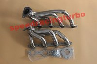 Exhaust header FOR FIT Chevy GMC Silverado Sierra FIT V8 4.8L 5.3L 99 01 Shorty Headers