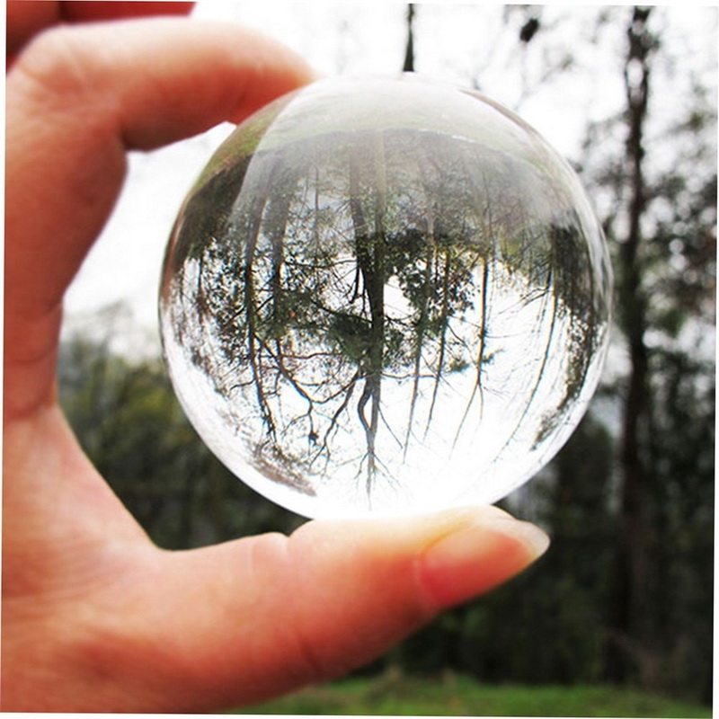40MM Multicolor Crystal Ball Asian Rare Natural Magic Beads Healing Sphere Globe Quartz Photography Balls Crystal Craft Decor