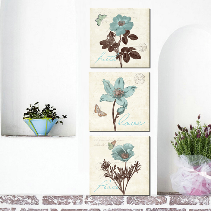Aliexpress Com Buy Free Shipping 3 Piece Wall Decor: Aliexpress.com : Buy 3 Piece Free Shipping Cheap Abstract