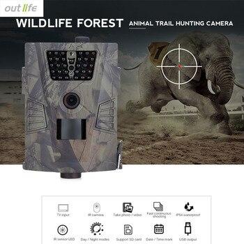 Outlife HT-001 водостойкая охотничья следная камера 940nm Дикая камера IR вспышка GPRS 720 P ночное видение охотничья камера Trail Device >> Monka Outdoor Store