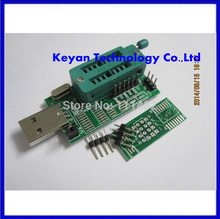 Free Shipping 10pcs Ch341a 24 25 reprogrammed dvd router bi0 s brush multifunctional usb programmer(China (Mainland))
