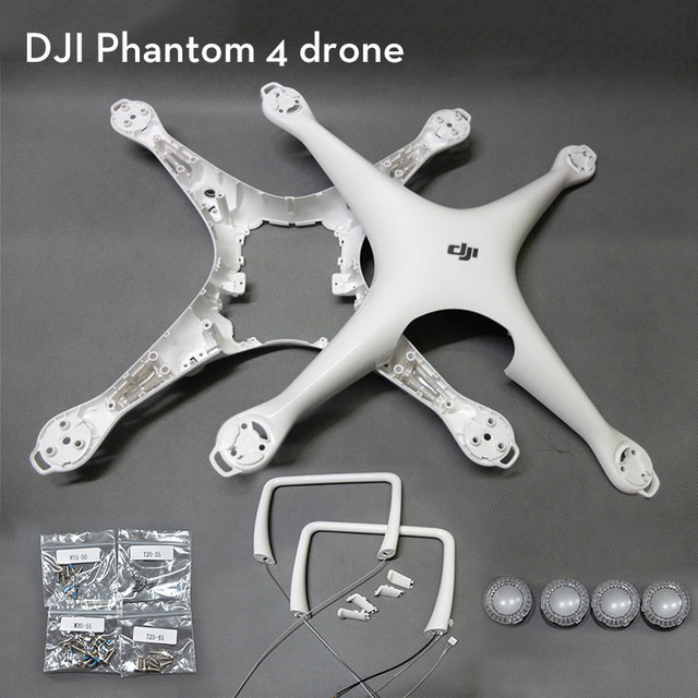 100% Original Brand New DJI Phantom 4 Spare Part Body Shell Chassis for DJI Phantom 4 RC Drone Body Cover Accessories