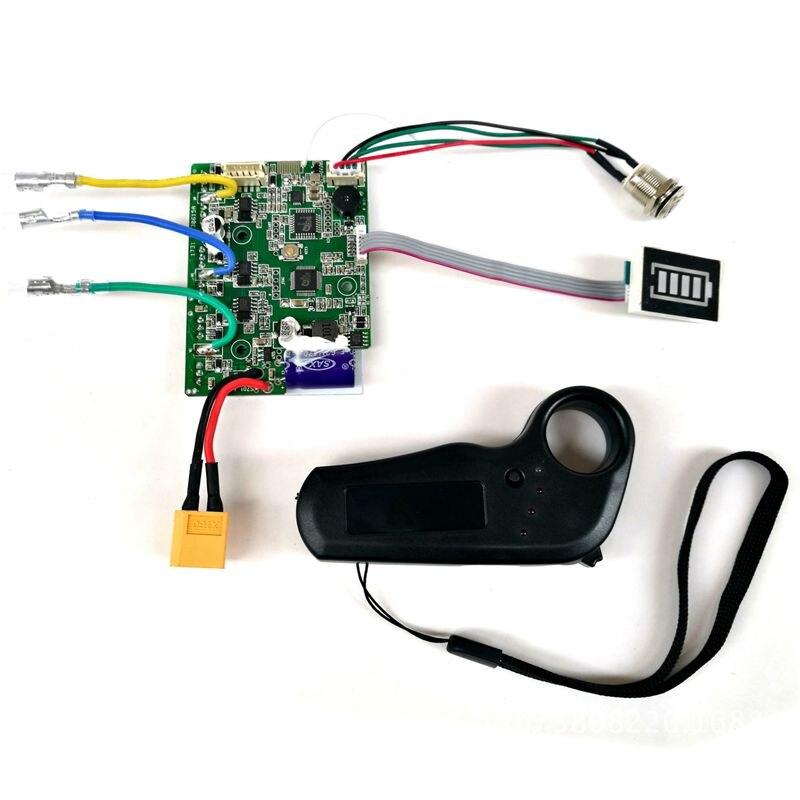 Contrôleur de planche à roulettes électrique planche à roulettes conseil de pilote à entraînement unique moyeu de détection externe panneau moteur 36V contrôleur de planche à roulettes