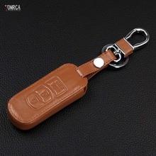 VCiiC Car Styling,Car Keychain Key chain leather key cover auto parts for Mazda 2 3 6 5 8 CX4 CX-5 CX5 CX-3 CX-4 CX-7 CX-9 AXELA