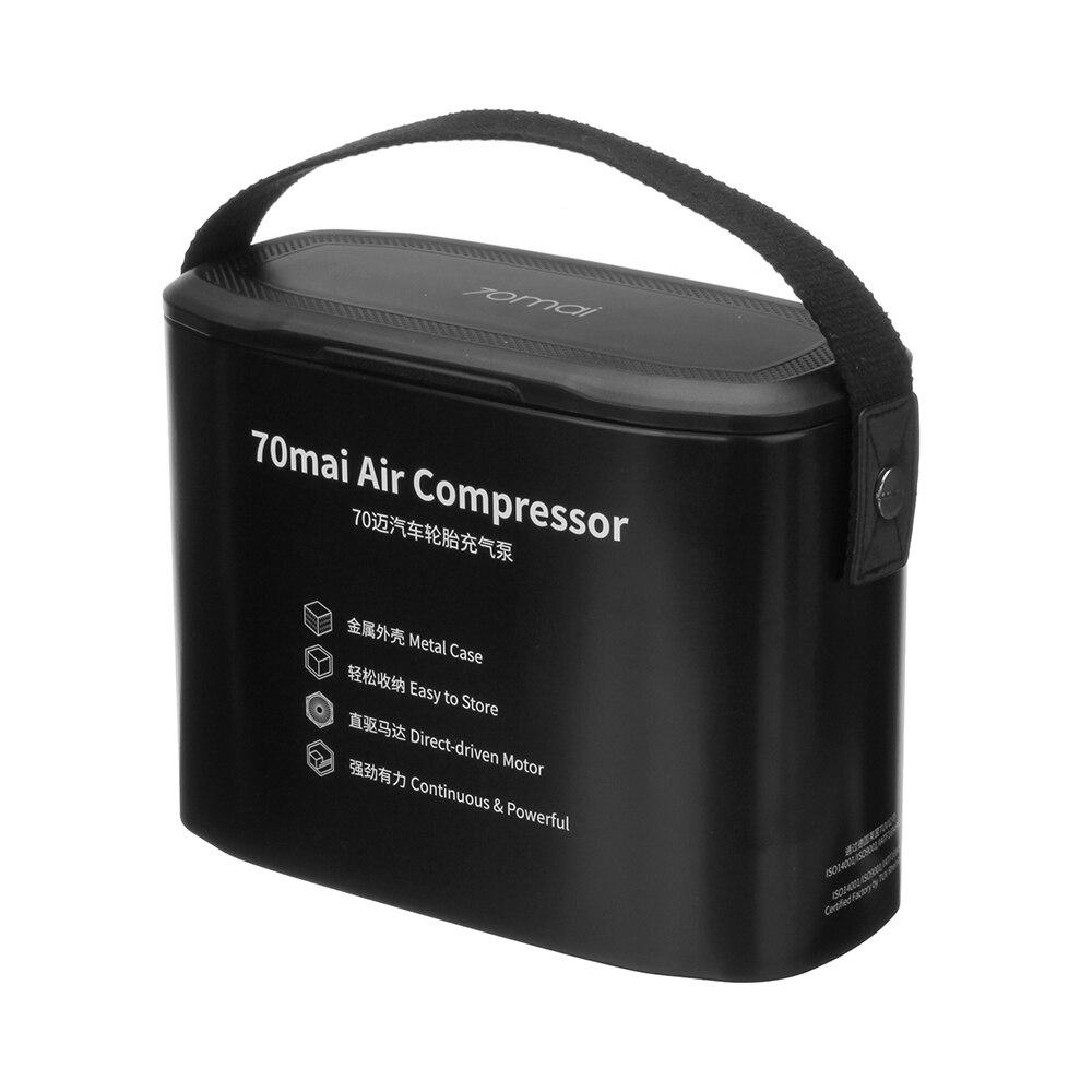 XIAOMI 70mai compresseur d'air Portable de pompe à Air monté sur véhicule