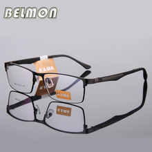 Spectacle Frame Eyeglasses Men Tag Computer Optical Myopia Eye Glasses Frame For Male Transparent Armacao Oculos de grau RS181