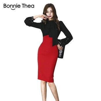 42fbe3d0 Bonnie thea mujeres verano elegante vestido de fiesta señoras de alta  calidad bordado Vestidos ...