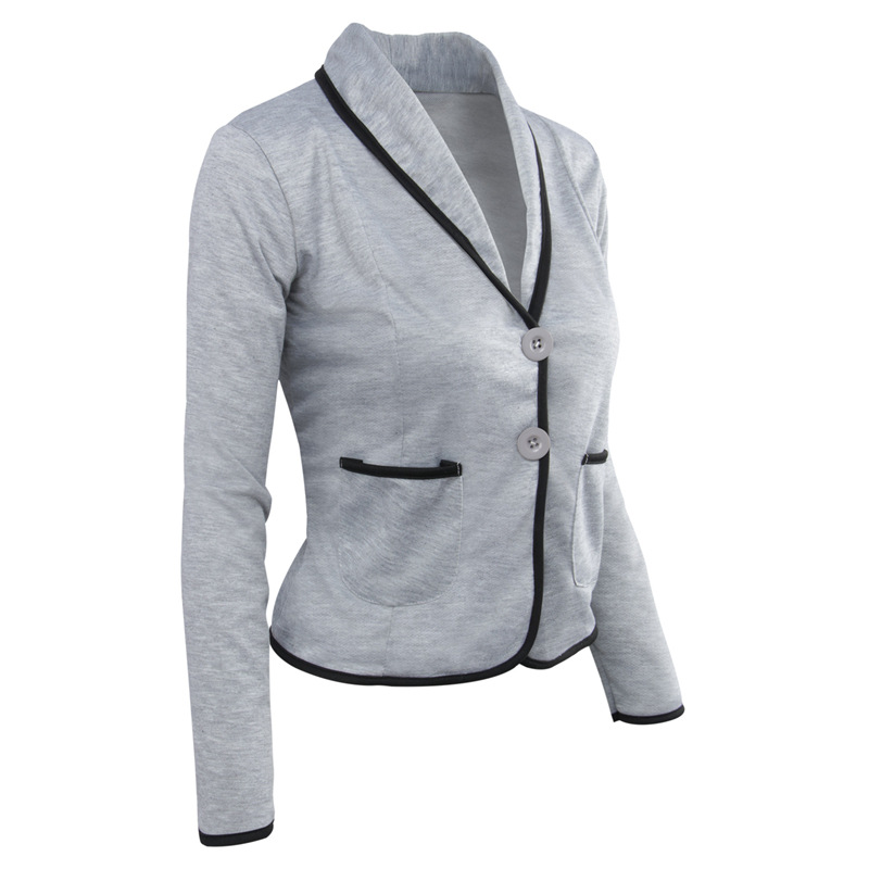 New Women's Blazer Plus Size Full Sleeve Blaser Women Suit Work Office Lady Suit Female Slim Blazer Women Spring Autumn S-6XL
