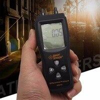 Smart sensor AS510 Differential Pressure Meter Manometer 0~100hPa negative vacuum pressure meter