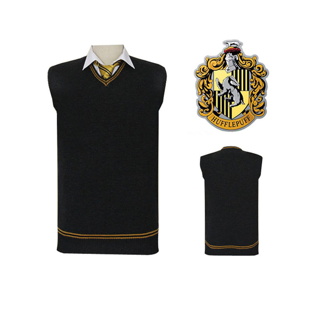 Gryffindor Slytherin Ravenclaw Hufflepuff Vest 2