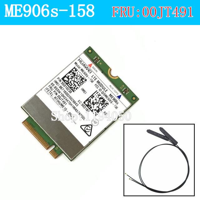 Huawei me906s me906s-158 fru 00jt491 00jt491 fdd lte original m.2 qualband lte 4g módulo thinkpad t460 l460 p50 t560 x1 x260 ca