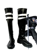цена на Final Fantasy VII FF7 Sephiroth Cosplay Shoes Long Boots Custom Made