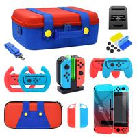 eHuuGie accessory set for nintend switch 21 in 1 game accessory kit for nintend switch