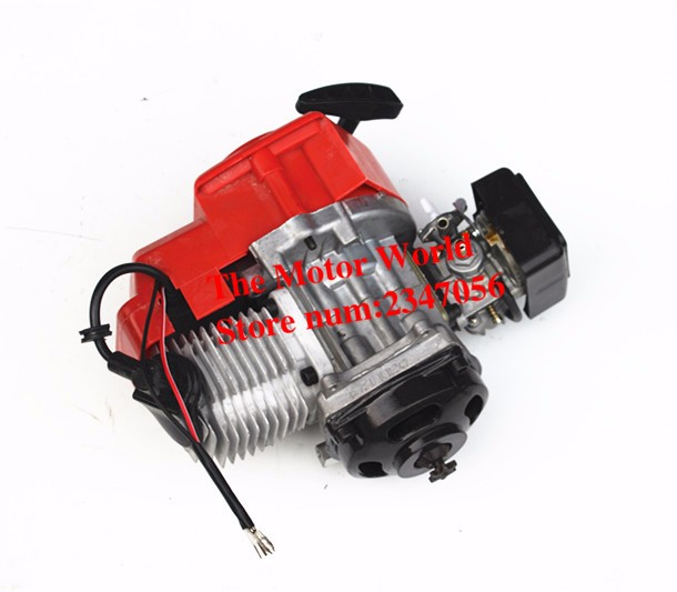 2-T 47cc 49cc Pocket Bike Motor Motor Carburateur Mini Crossmotor mini crossmotor motor vierwielaandrijving strand