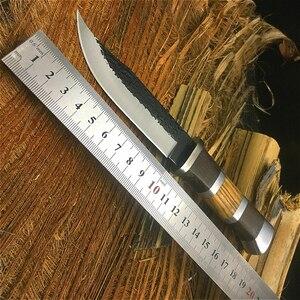 Image 2 - PEGASI un type de couteau de plongée manuel 440C, couteau pliant pour la protection du corps, couteau à fruits, couteau de survie pour la jungle