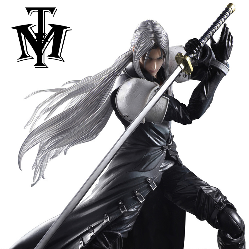"Anime Game Final Fantasy VII Sephiroth 10"" Action Figure"
