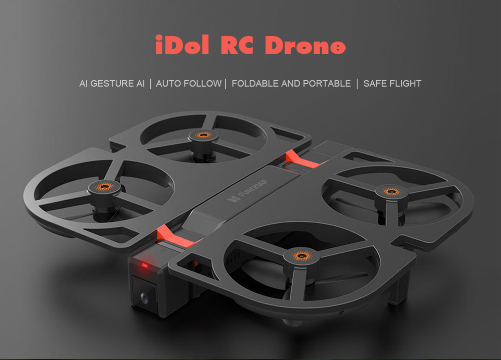 Xiaomi Idol Intelligent Aircraft Ai Recognition Gesture Photo Folding Portable Drone 12