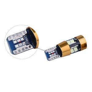 Image 5 - 100 יחידות 12 V 24 V T10 Canbus 19 SMD 3030 sem erros נאו polaridade 168 W5W 194 רכב Licenca ספוט Lampada דה Estacionamento luz Est