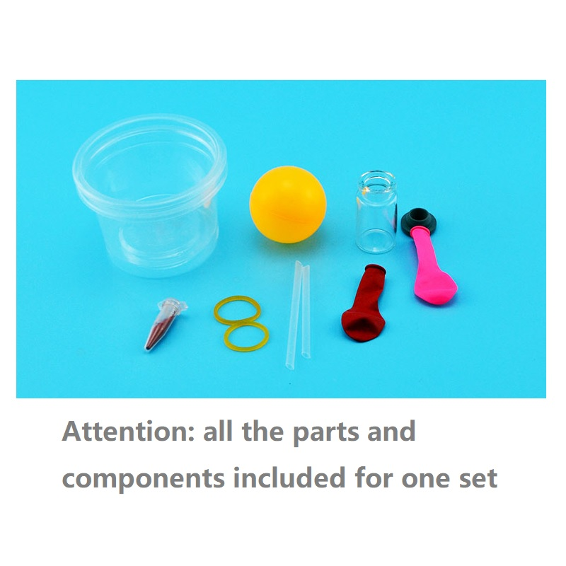 Children Thermal Expansion Shrink Heat Cold Reaction Experiment Set Kids STEM Physics Teaching Aid Student Science Test Learning