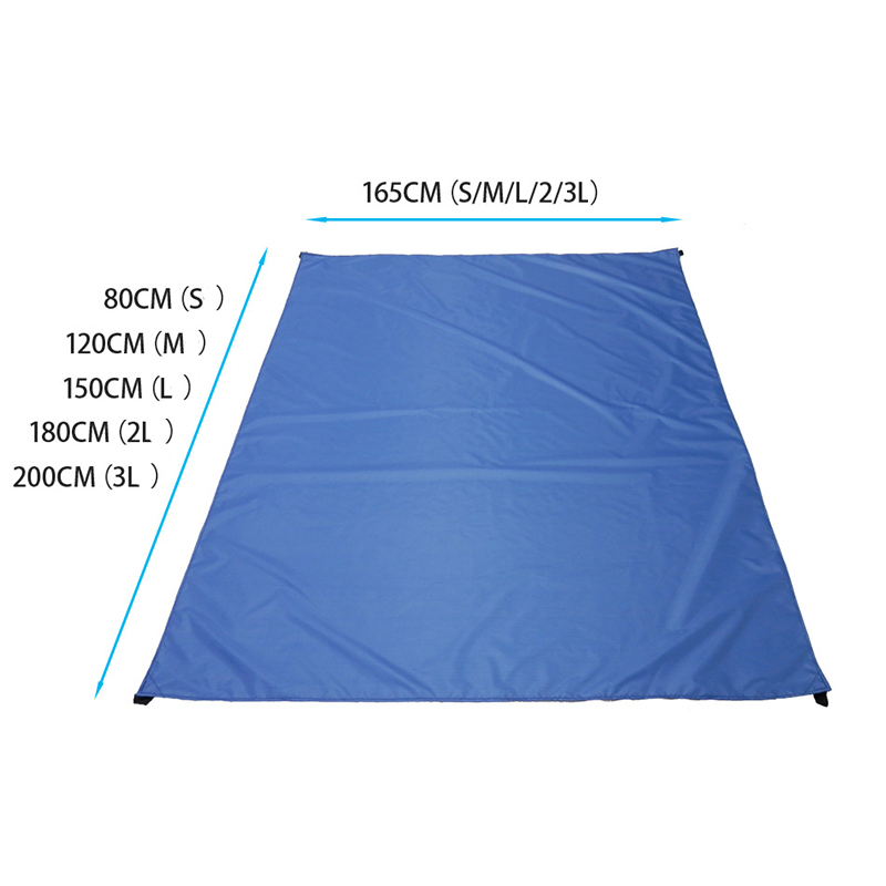 Pocket Picnic Waterproof Beach Mat Sand Free Blanket Camping Outdoor Mats Picknick Tent Folding Cover Tourist Mattress