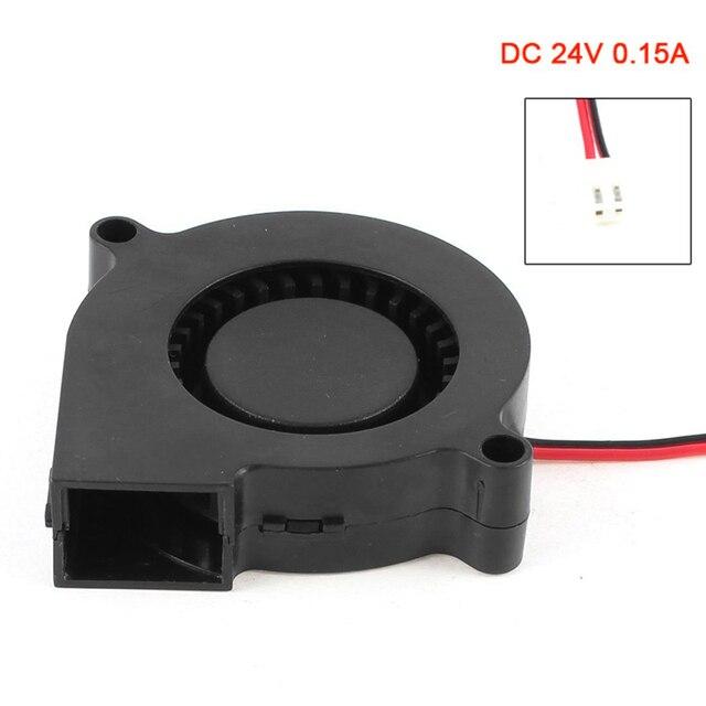 Новый 2 контактный разъем бесщеточный 24 В 0.15A турбовоздуходувки Вентилятор охлаждения QJY99