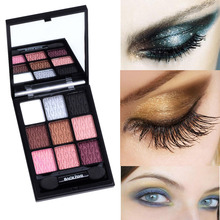 9 colors 1pcs waterproof eyeshadow natural Matte naked palette professional urban makeup eye cosmetics expert