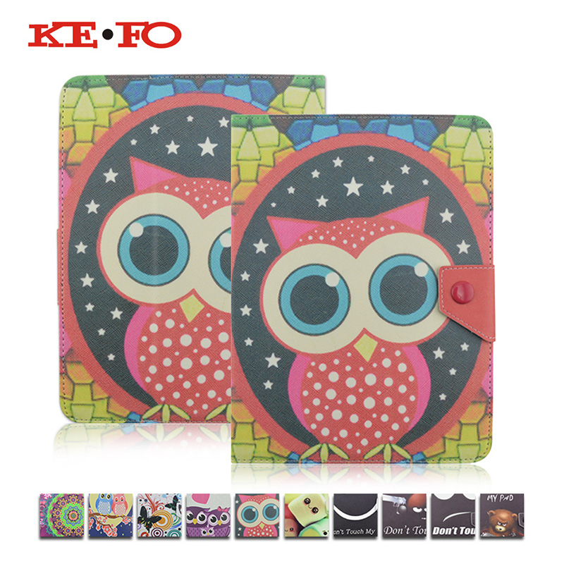 Printed Universal Cover for 7 Inch Tablet Prestigio MultiPad Wize 3787 PMT3787 3G,KeFo PU Leather Case funda 7.0 inch tablet universal 61 key bluetooth keyboard w pu leather case for 7 8 tablet pc black