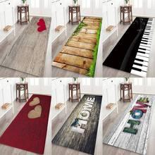 Современный фланелевый ковер с принтом, 3D домашний коврик с принтом букв для комнаты, напольный ковер для гостиной, спальни, домашний декоративный коврик
