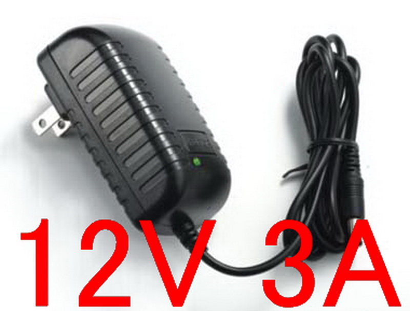 High quality IC solutions 100PCS DC 12V 3A Switch power supply 36W LED power adapter 5