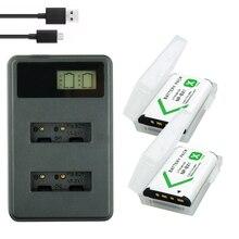 2* NP-BX1 bateria NP BX1 Battery Packs + LCD Dual USB Charger for Sony DSC RX1 RX100 AS100V M3 M2 HX300 HX400 HX50 HX60 GWP88