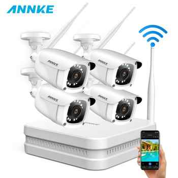 ANNKE 8CH 1080P FHD Wireless NVR Video Security System With 4PCS 2MP Bullet Outdoor Weatherproof IP WIFI Cameras Home CCTV Kit - DISCOUNT ITEM  32% OFF All Category