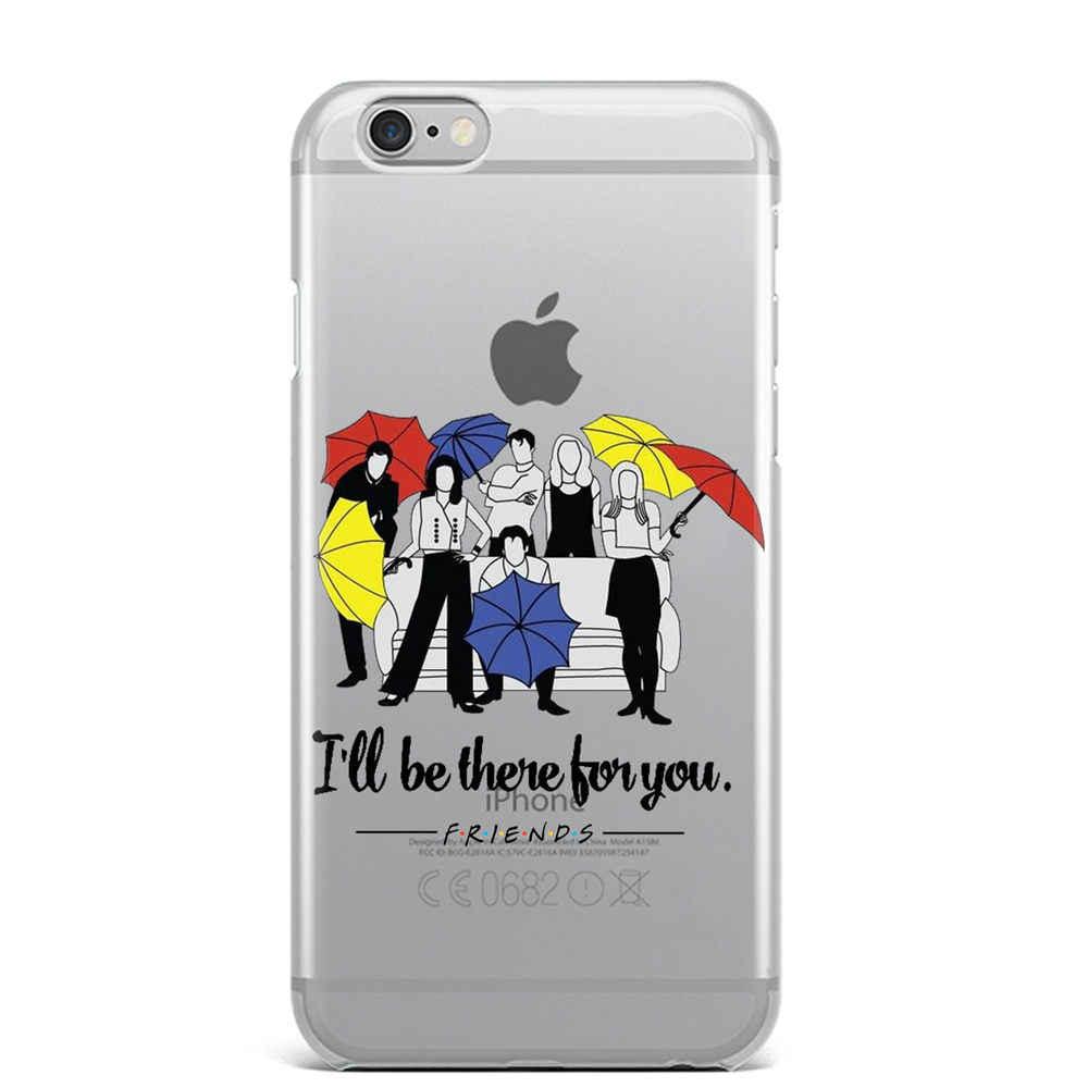 Мягкий силиконовый чехол для телефона Friends для Apple IPhone X XR XS Max 8 8 Plus 7 7 Plus 6 6 S 6plus 6splus 5 5S SE