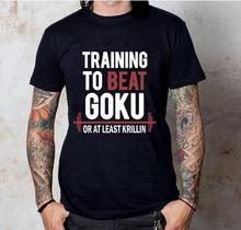 Camiseta motivación Goku