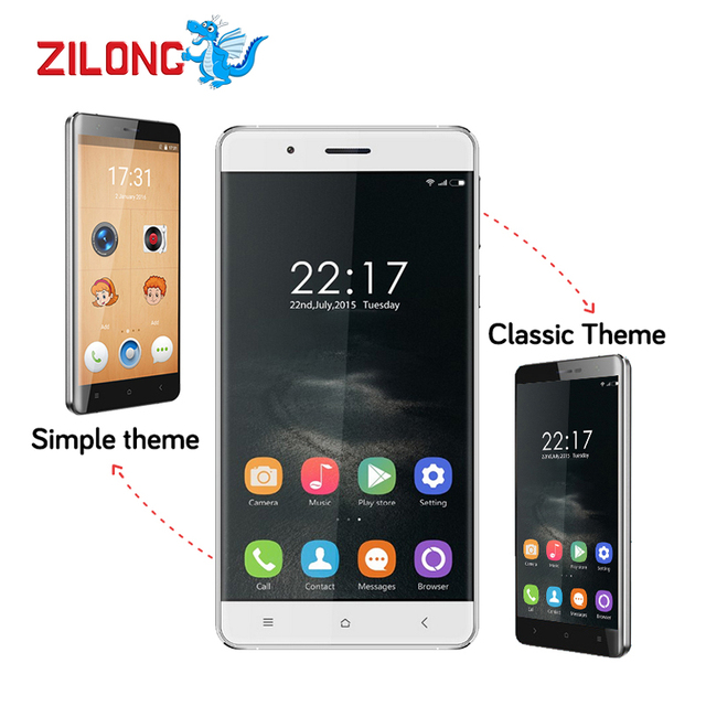 "OUKITEL K4000 LITE  5""Inch Smartphone Android 5.1 4G LTE Quad Core 1280x 720 MTK6735P 2GB+16GB13.0MP 4000MAH Mobile Phone"