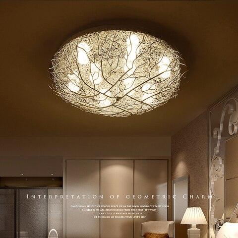 modernas luzes teto led iluminacao casa