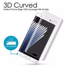 3D Curved Screen Protector For Samsung Galaxy S9+ S7 Edge S6 S8 Plus Note 8