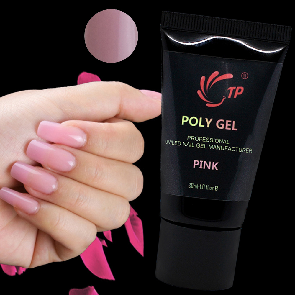 TP 30ML UV Builder Gel Nails Extension Tips Pink Color Tube Nail Poly Cover In From Beauty Health On Aliexpress