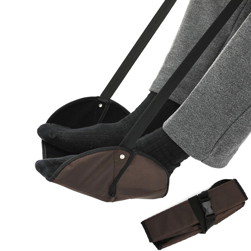 Portable Travel Aviation Seat Mats Trains Practical Adjustable Feet Rest Feet Hammock Travel Accessories Rest Foot Foot Artifact