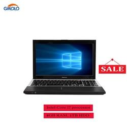 15,6 Intel Core I7 8 ГБ и 240 ГБ SSD игровой твердотельный диск для ноутбука слот камера WIFI Windows 8 игровой ноутбук компьютер