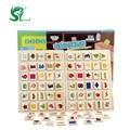 Деревянные игрушки монтессори правого полушария мозга памяти тест игрушки для детей дать своим детям лучший подарок игрушки кирпичи интересы
