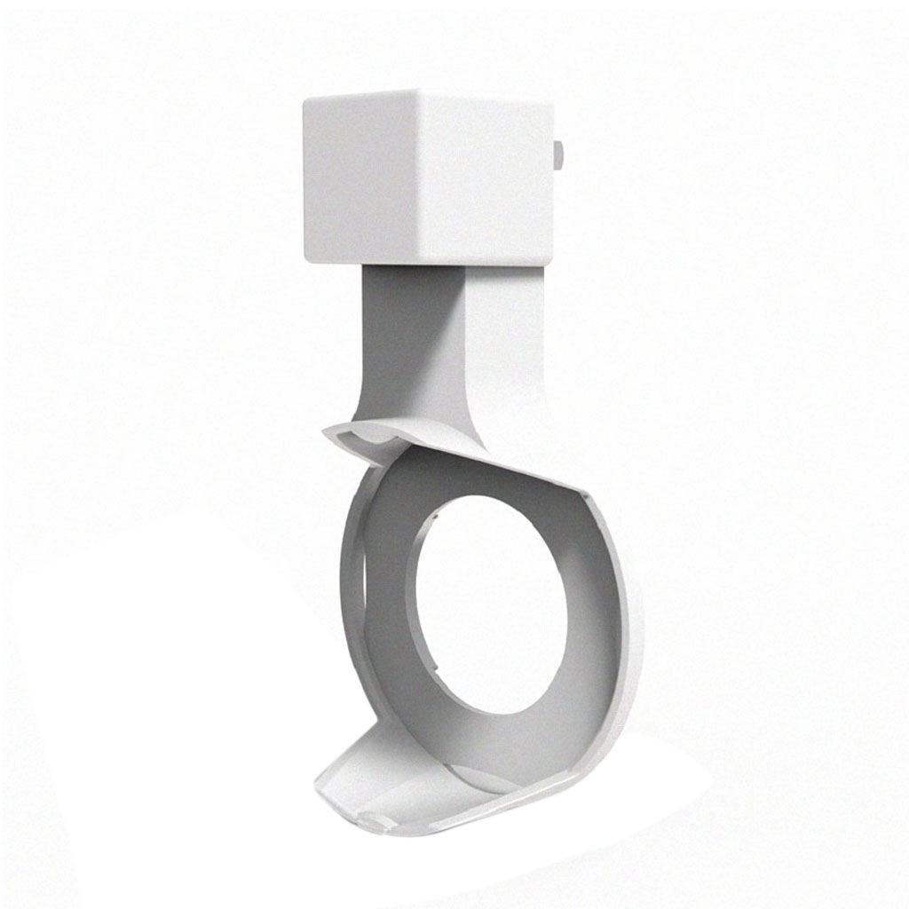 Bianco per Amazon Echo Dot 2 Ricaricabile Testa Accessori Adattatore di Alimentazione Staffa di Montaggio A Parete Spina DEGLI STATI UNITI