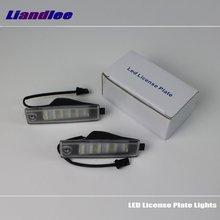 цена на Liandlee For Toyota RAV4 / Vanguard 2006~2012 / LED Car License Plate Light / Number Frame Lamp / High Quality LED Lights
